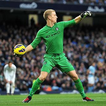 Joe Hart remains Manchester City's first-choice keeper despite recent failings