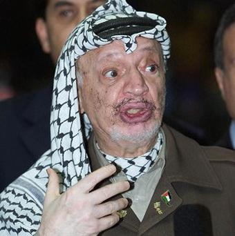 Yasser Arafat died in November 2004, a month after suddenly becoming ill