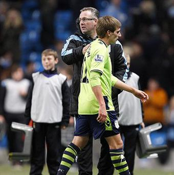 Aston Villa manager Paul Lambert described the decision to award City's first penalty as 'woeful'