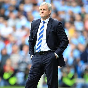 Manager Mark Hughes is under huge pressure at QPR