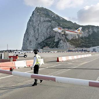 Spanish ships are illegally entering the waters around Gibraltar (AP)