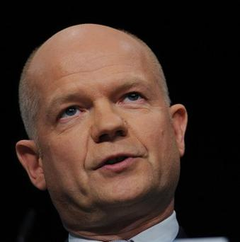Foreign Secretary William Hague has warned Israel it will lose international sympathy if it launches a ground invasion on Gaza