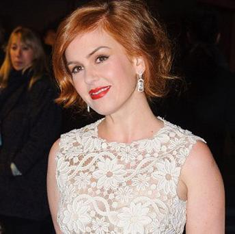 Isla Fisher arrives for the UK premiere of Rise of the Guardians in Leicester Square, London