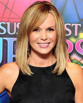 Amanda Holden has said David Walliams is nervous but excited about becoming a father.