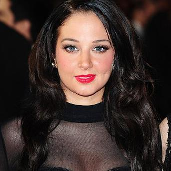 Tulisa Contostavlos wasn't impressed at being called a Wag