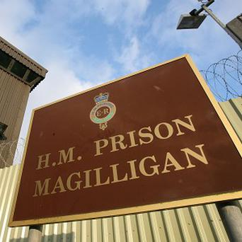 Prison officers fighting the potential closure of Magilligan prison have taken their campaign to Stormont