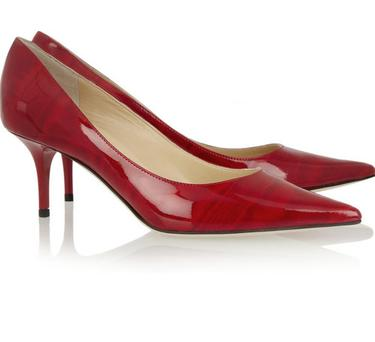 Once you're used to sky high heels, low ones can be surprisingly hard to walk in