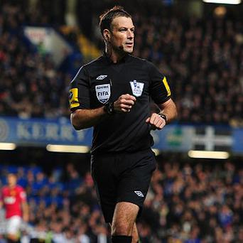 Mark Clattenburg will not officiate any of this weekend's fixtures