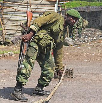 Rebels in Congo say they have seized the airport in Goma (AP)