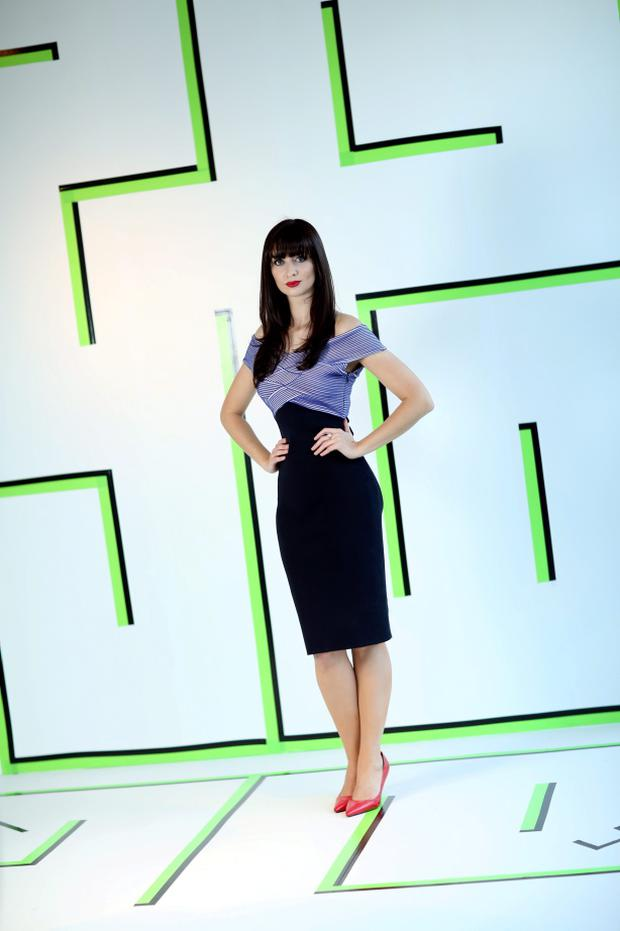 Aoibhinn Ní Shúilleabháin promoting the Science Gallery at Trinity in 2012