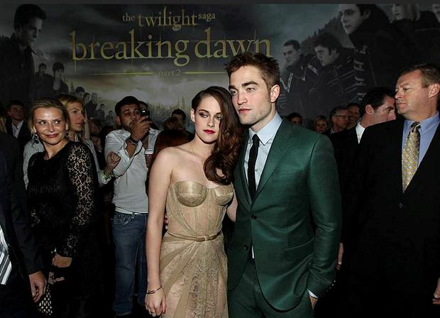 Robert and Kristen had a heated exchange before their first red carpet appearance in Los Angeles