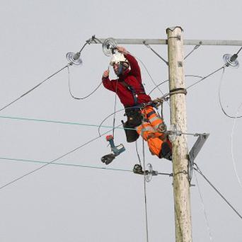 NIE says it will have to charge customers to replace poles, pylons and wires across the electricity network over the next decade