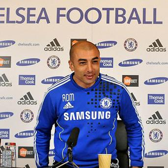 Roberto Di Matteo spent eight months in charge at Stamford Bridge