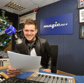 Michael Buble will return for more festive radio shows