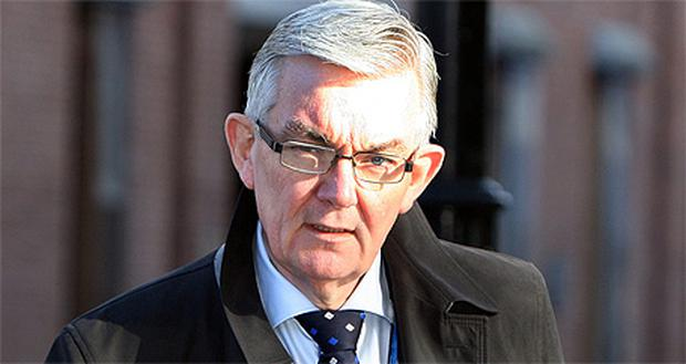 Ambrose McLoughlin was present at a meeting between Tanaiste Eamon Gilmore and Health Minister James Reilly