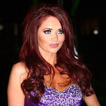 Amy Childs thinks X Factor hopeful Rylan Clark is very entertaining