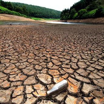 Extreme weather events such as this summer's drought in the US are predicted to get more frequent as the climate changes
