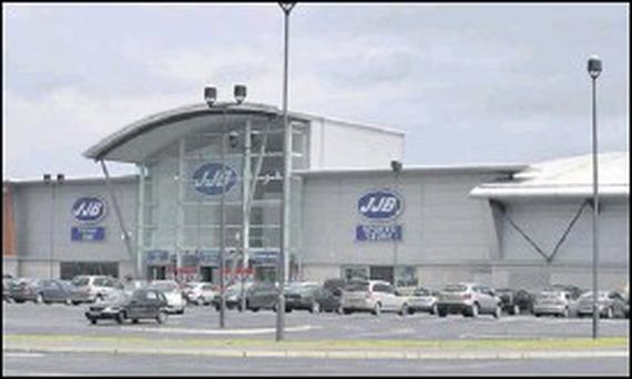The JJB Complex in Dundalk