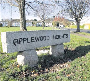 Applewood Heights where the majority of residents want the road running through the estate blocked off.