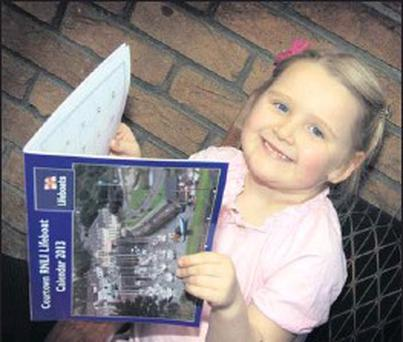 Grace Willoughby has a preview of the Courtown RNLI Lifeboat calendar which is now on sale.