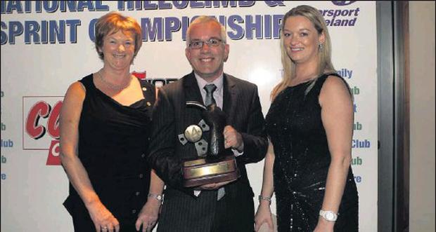 Philip Cullen, clerk of the course for the Wexford Hillclimb earlier in the year, was presented with the Dick Bailey award by Ann and Laura Bailey. The award was presented for the best organised and most enjoyable event throughout the year as voted for...