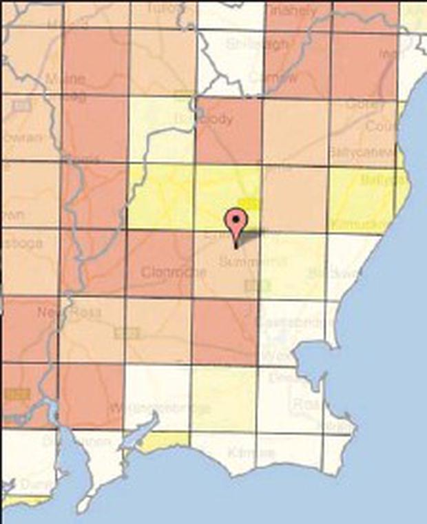 Wexford radon alert - Independent.ie on ireland wexford, courtown wexford, hook lighthouse wexford, whites hotel wexford, co wexford,