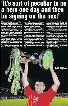 Sligo Rovers captain Danny Ventre
