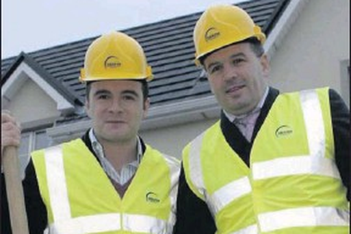 Shane Filan, left, and his brother Finbarr, of Shafin Developments Ltd.