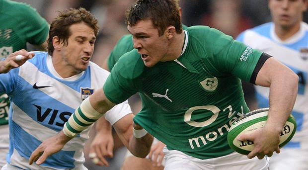 Peter O'Mahony was on the wrong end of incident with the Pumas