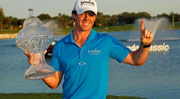 <b>March 4: </b>McIlroy becomes Irish golf's first world No 1 by holding off a rampant Tiger Woods at the Honda Classic. It's his fourth victory in nine months since the 2011 US Open