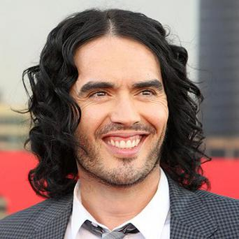 Russell Brand has been spotted at his yoga class with his mum