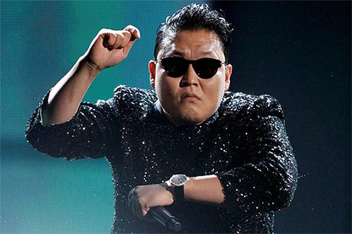 South Korean rapper Psy performs 'Gangnam Style'