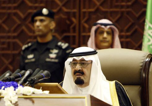Saudi King Abdullah bin Abdulaziz al-Saud. Photo: Getty Images