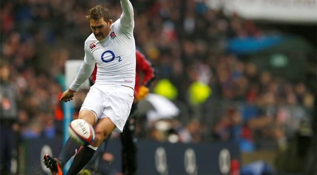 Toby Flood in action for England. Photo: Reuters
