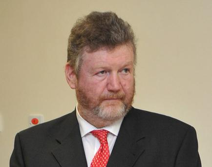 5/11/2012; Minister for Health, James Reilly, T.D., pictured at the official opening of the Raheny Community Nursing Unit, a 100 bed facility to provide full time residential care for older persons. Picture credit; Damien Eagers