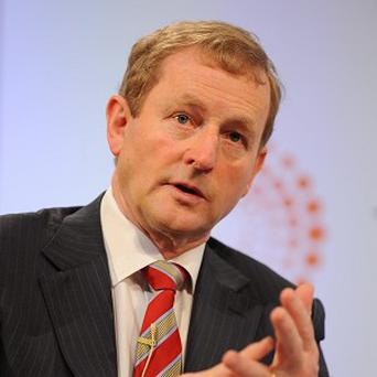 Enda Kenny is expected to deal with Ireland's presidency of the European Union at a summit in Wales