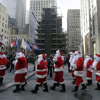 Santa's traditional deliveries are going to cost more this year (AP)