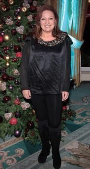 Norah Casey pictured at The Lancome Christimas celebrations and Spring Summer collection launch at the Shelbourne Hotel,DublinPix Brian McEvoy