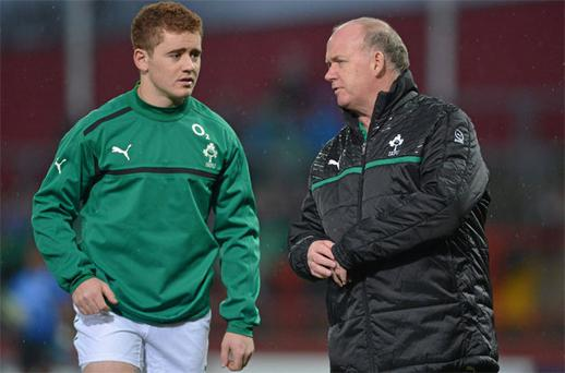Ulster out-half Paddy Jackson is one of the younger players to have taken his chance to impress Declan Kidney during the November Series