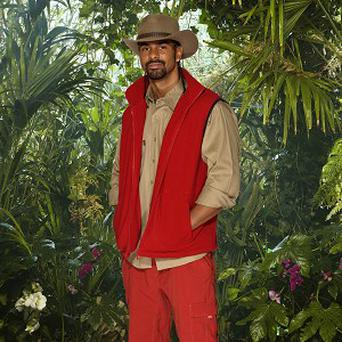 Boxer David Haye was unfazed during his Cruelty Towers bushtucker trial