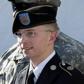 Bradley Manning could face life imprisonment if he is found guilty of aiding the enemy (AP)