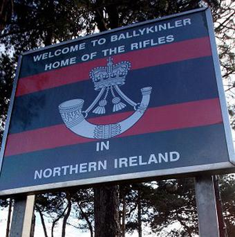 A munitions accident at Ballykinler Army base has left one person injured, according to the MoD