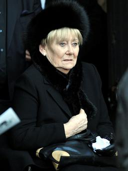 Liz Dawn. Photo: PA