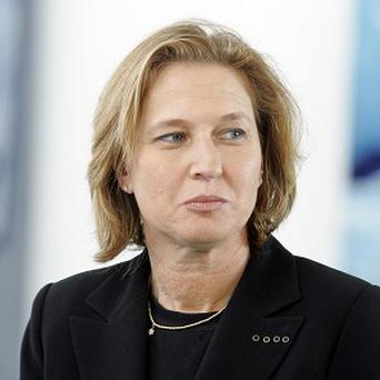 Tzipi Livni will be heading a new Israeli party called The Movement (AP)