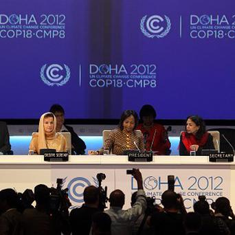 The UN climate change conference gets under way (AP)