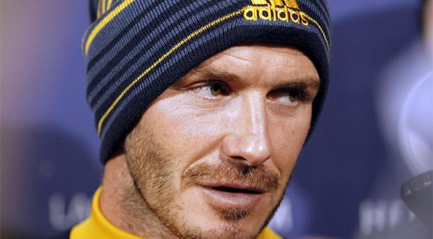 David Beckham. Photo: AP