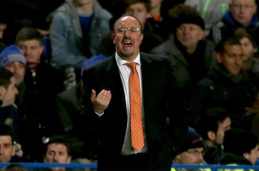 Chelsea interim manager Rafael Benitez. Photo: PA