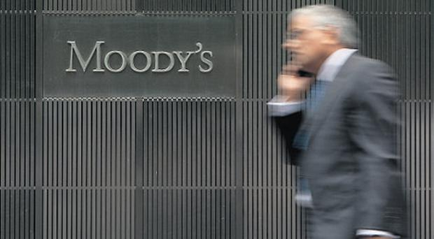 The main rating agencies, including Moody's, give ratings to sovereign and corporate debt for investors which 'prices' the attaching interest rate in the market