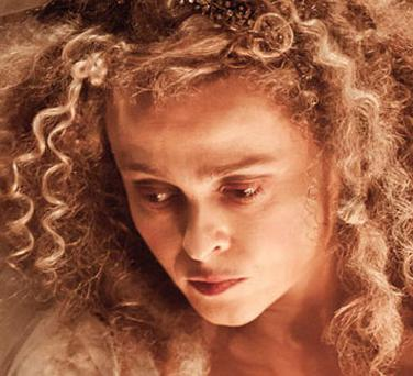 Helena stars as Miss Havisham in the film