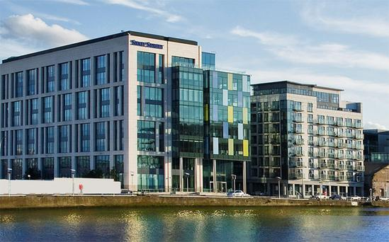 State Street Bank office building on Sir John Rogerson's Quay is believed to have sold for around €108m
